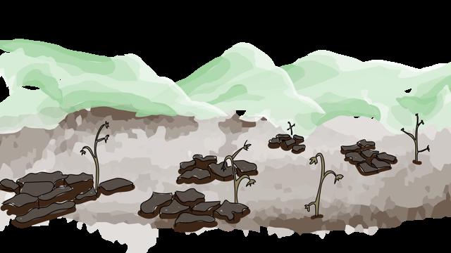 droge aarde